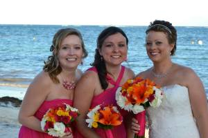 Me with the bridesmaids