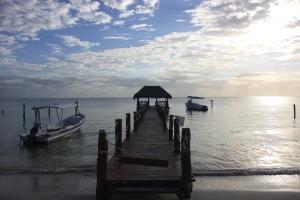 Pier at Azul Beach
