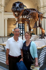 Me and Dad at the Field Museum
