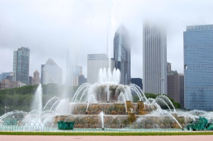 Fountain in Grant Park