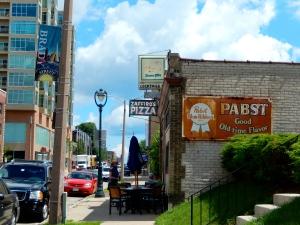 First stop on Brady Street Food Tour: Zaffiro's Pizza