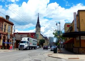 View of Brady Street, Milwaukee