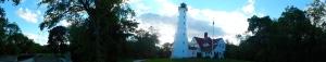 Panorama of Lake Park Light house