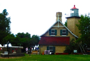 Lighthouse in Peninsula State PArk