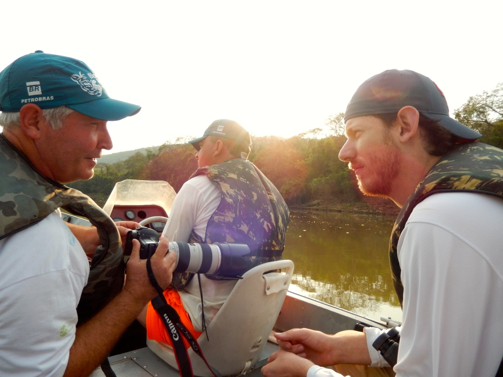 Douglas and Jon geek out over camera equipment.  Sadly I don't have any pictures of them on the boat editing pictures