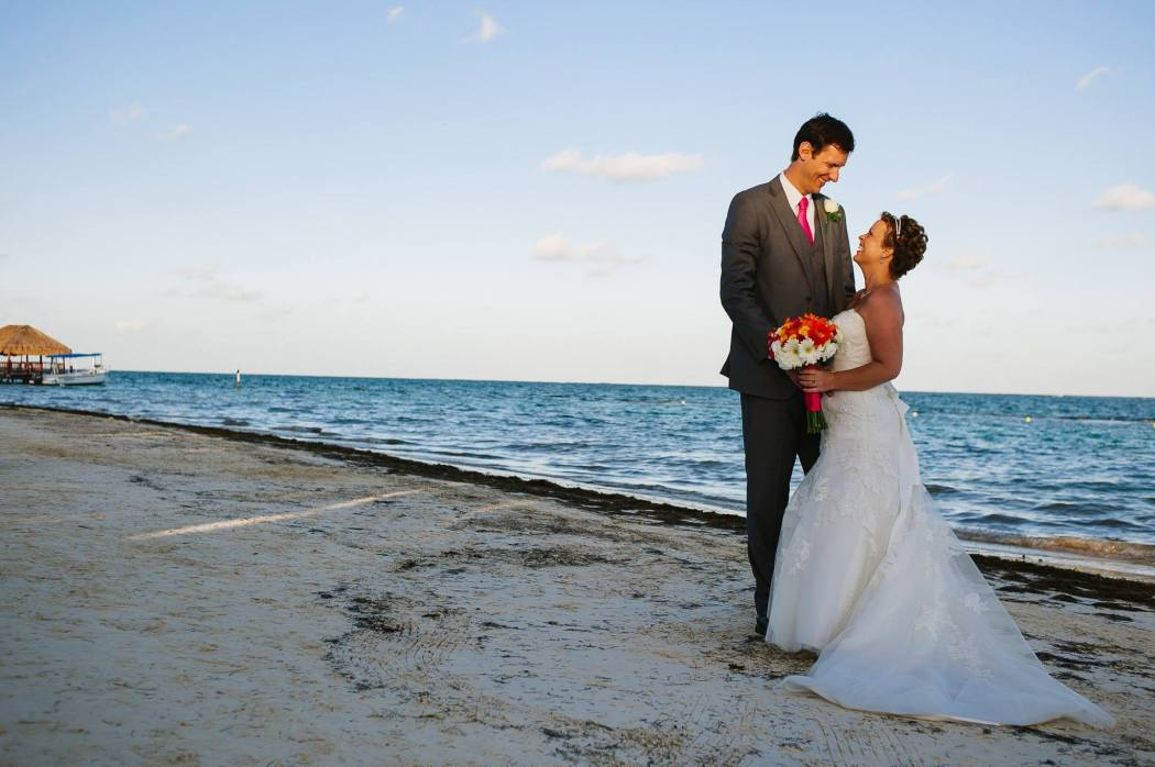 Azul Beach Wedding Pic